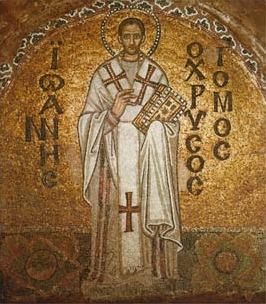 John Chrysostom mosaic