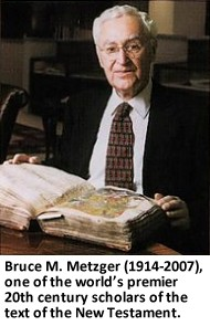Bruce M. Metzger (1914-2007)